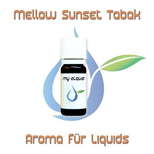 Mellow Sunset Tabak Aroma | My-eLiquid E-Zigaretten Shop | München Sendling