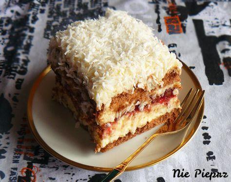 Kokosowe ciasto bez pieczenia
