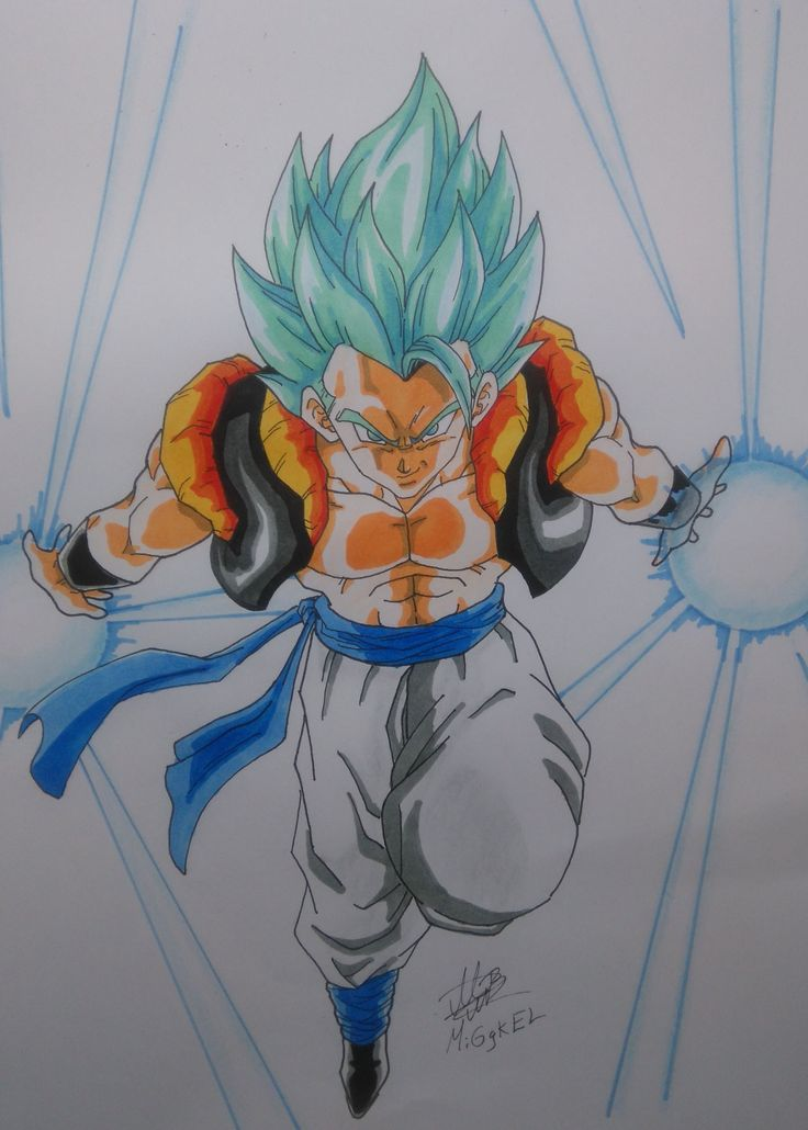 GOGETA super saiyan god super saiyan. checa el proceso aqui: check the process here: https://www.youtube.com/watch?v=Px1xVmbXlY8&index=1&list=PLkmIeywiOB5oHBlrK9NMLcO5JY23cFt1K