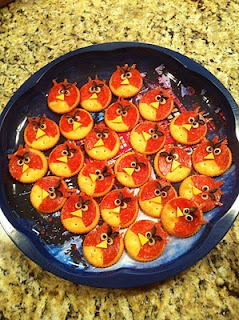 Angry Bird Appetizers
