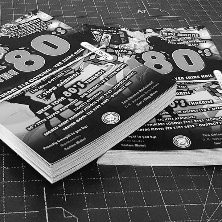 Tickets   NCR Numbering   176-200GSM  #tickets #design #print  #fullcolor #fullcolour #digitalprint #cmyk #ball #dance #concert #event #offset #eighties #backto #backtothe80s #backtotheeighties #artboard #ticket #greyscale #designer #80s #80smusic #guilotine #lasercut #artistic #trimmed