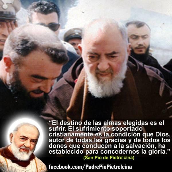 San Pio de Pietrelcina ruega por nosotros. https://www.facebook.com/PadrePioPietrelcina
