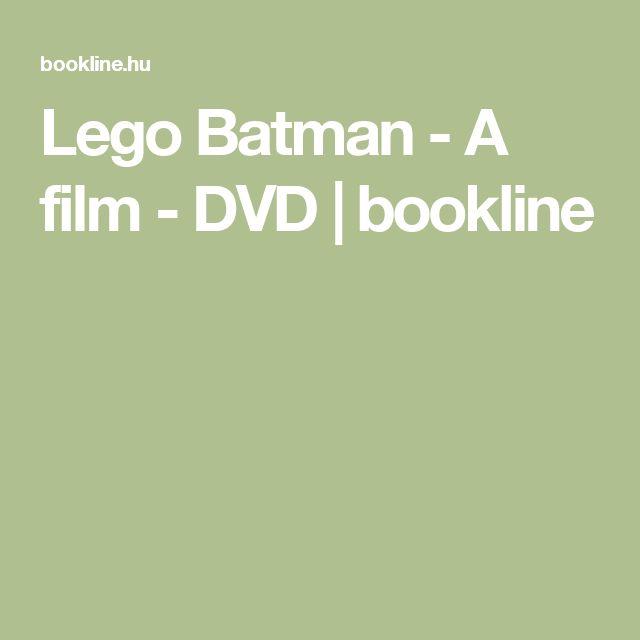 Lego Batman - A film - DVD | bookline
