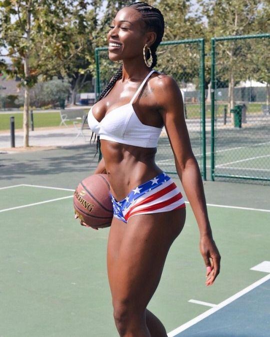 Black girls sexy workout