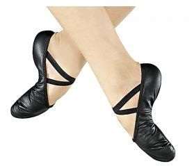 Baletki skórzane, buty do baletu, buty taniec | Regnum Shop