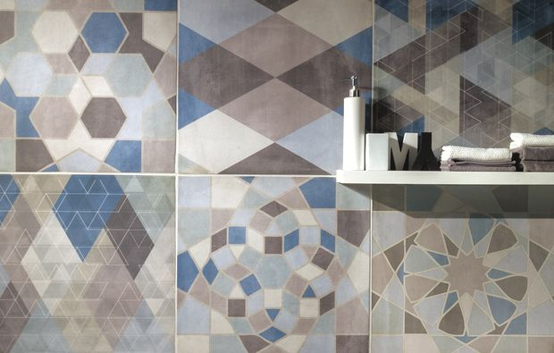 Le 25 migliori idee su piastrelle geometriche su pinterest - Piastrelle bianche 30x30 ...