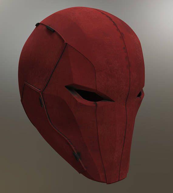 Red Hood Helmet Injustice 2 STL file