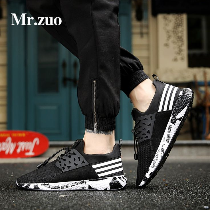Sneakers men 2017 breathable running shoes for men Ultra Boosts mesh Hard-Wearing big Mans footwear black Sport  large sizes  #Affiliate
