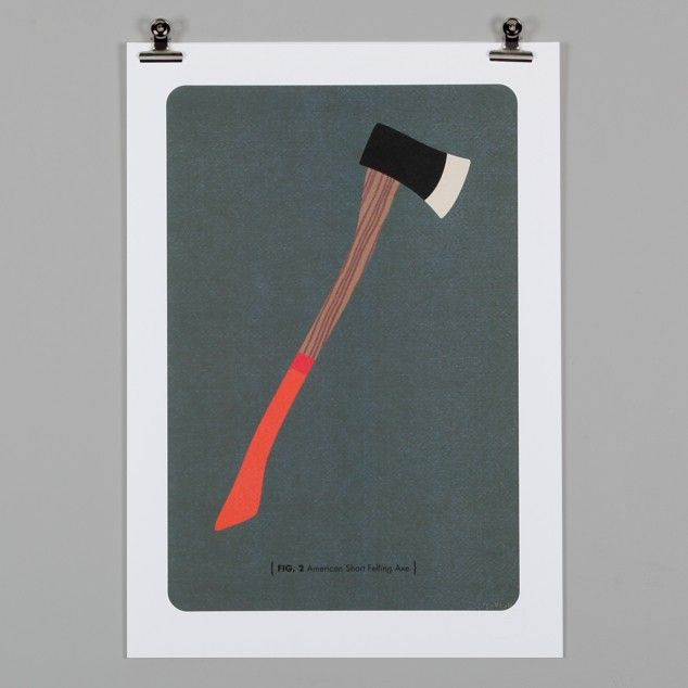 Bush Man Print Series: Axe