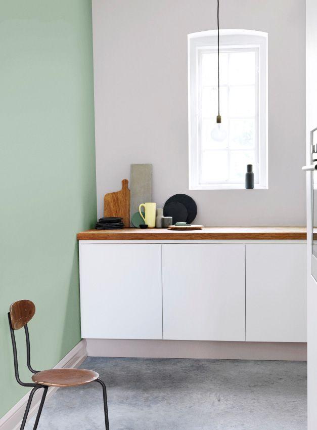 flugger färg Relaxed green
