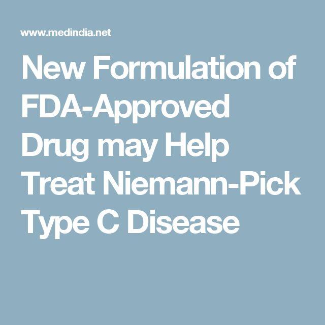 New Formulation of FDA-Approved Drug may Help Treat Niemann-Pick Type C Disease