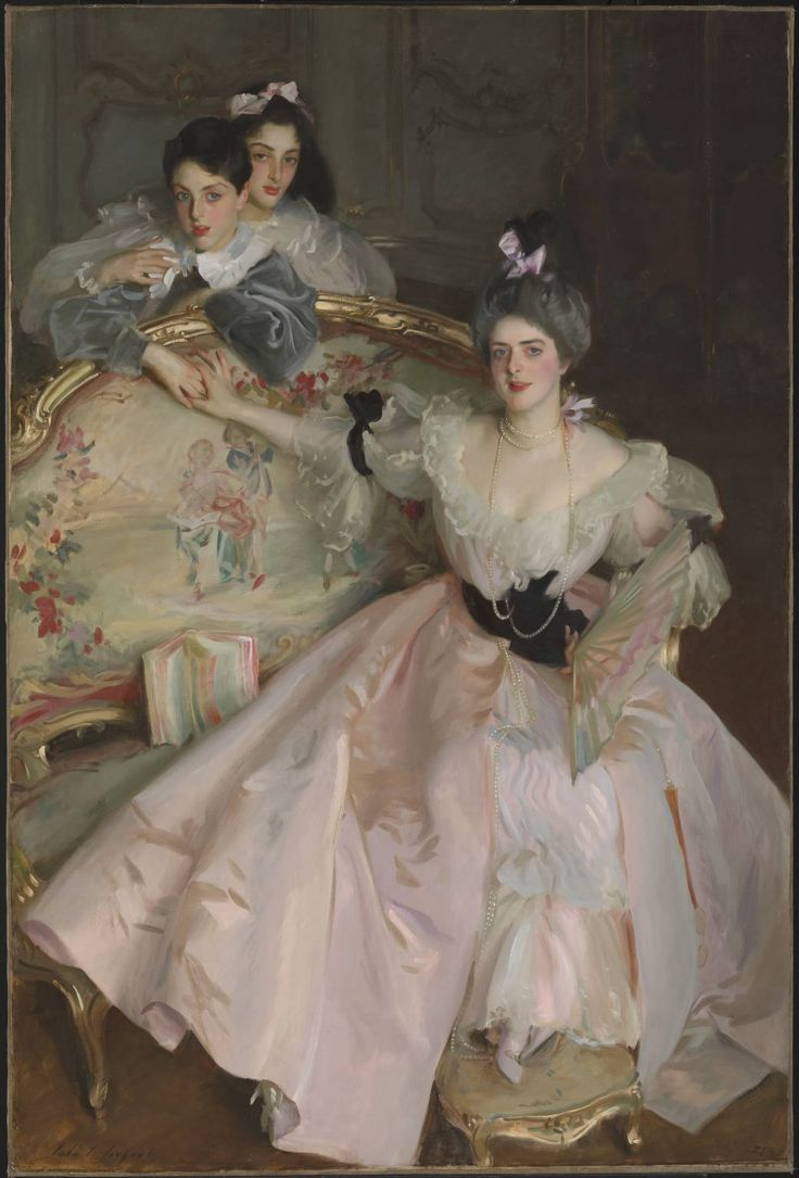 "Sargent's ""Mrs. Carl Meyer and her Children"" – Underpaintings Magazine"