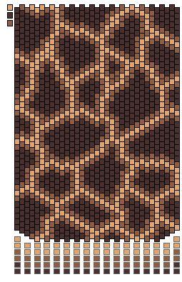 Шкуры животных. Мозаика | biser.info - всё о бисере и бисерном творчестве
