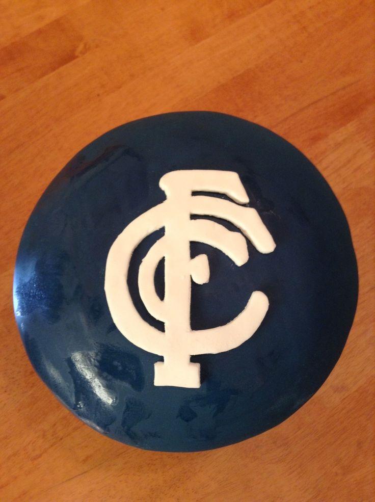 Carlton Football Club (AFL) Cake
