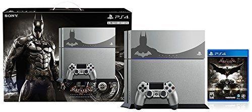 awesome 500GB PlayStation 4 Batman Arkham Knight Bundle Limited Edition - For Sale