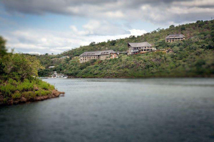 An amazing view of Jozini Tiger Lodge from Lake Jozini