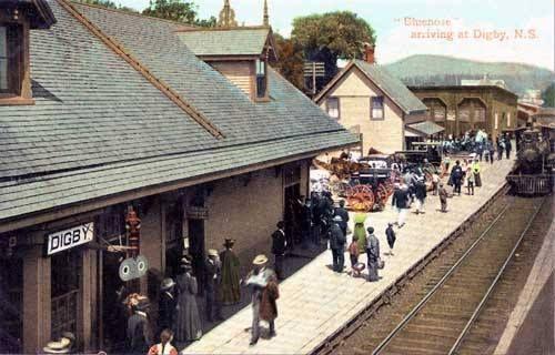Digby railway station 1900s