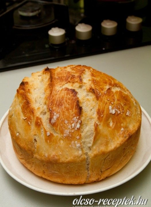 Ropogós házi kenyér receptje  | Receptneked.hu (olcso-receptek.hu)
