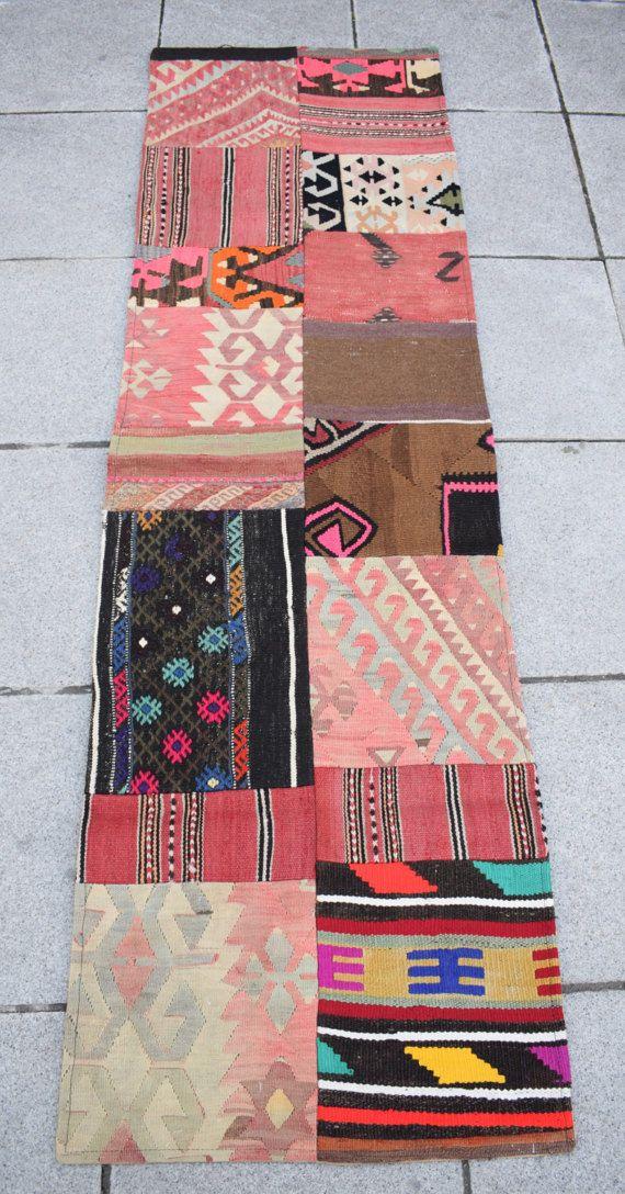 Narrow kilim runner home decorative kilim runner wall hanging