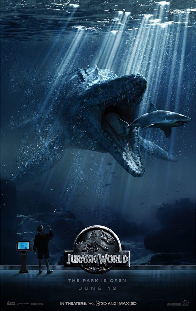 CIA☆こちら映画中央情報局です: Jurassic World : シリーズ復活の第4弾「ジュラシック・ワールド」が、D‐レックスの暴走を発端に、パークがカオスに陥る過程を紹介した迫力の新しい予告編と、ポスター3枚をリリース!! - 映画諜報部員のレアな映画情報・映画批評のブログです