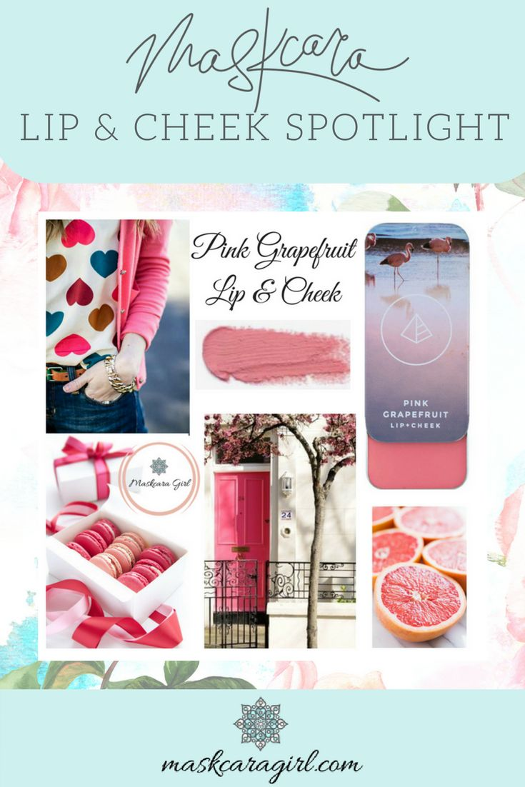 Check out this stunning Pink Grapefruit Lip and Cheek