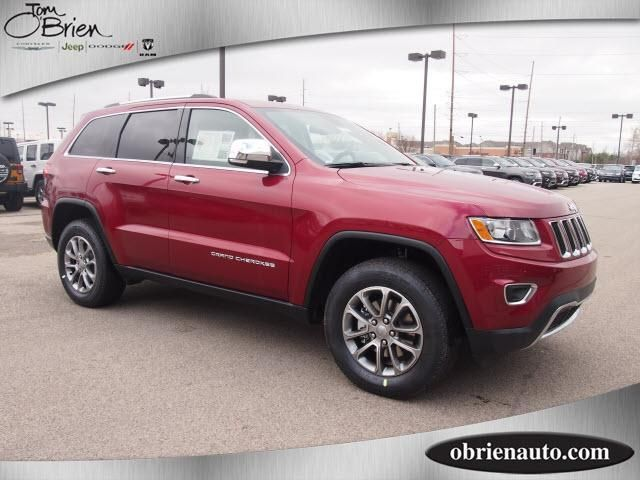 The 2014 Jeep Grand Cherokee Limited in Deep Cherry Red