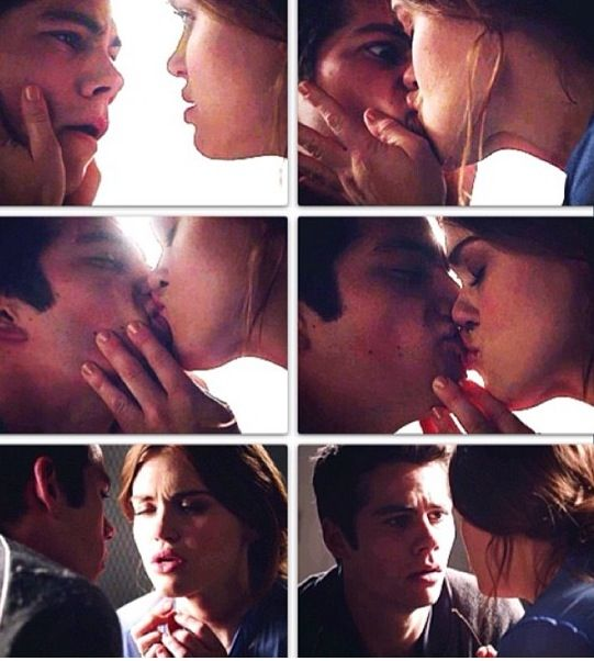 Teen wolf - alpha pact, Lydia helping Stiles with a panic attack, so sweet