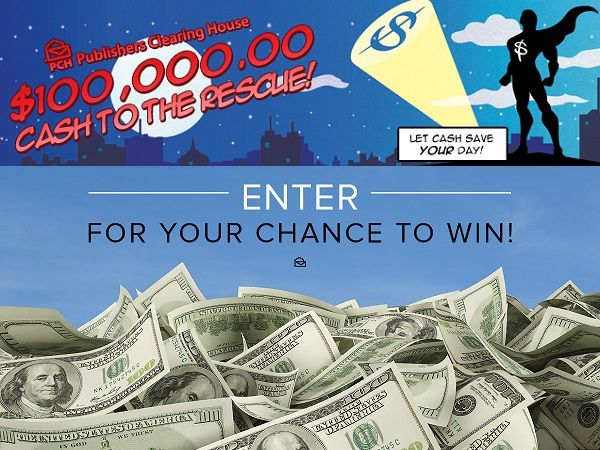 Win $100,000 cash from PCH to make your dream true
