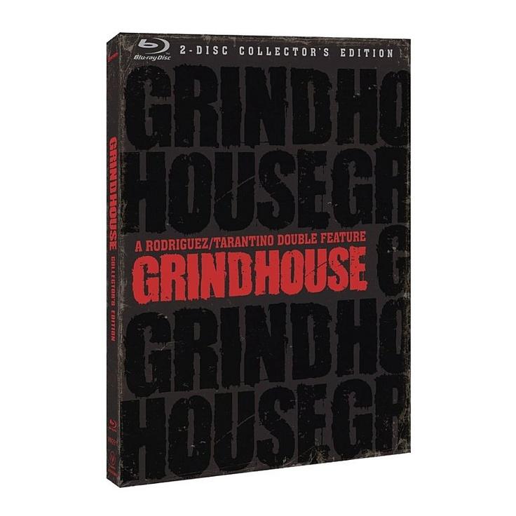 Grindhouse (Boulevard de la mort & Planète terreur) en un seul coffret blu-ray collector