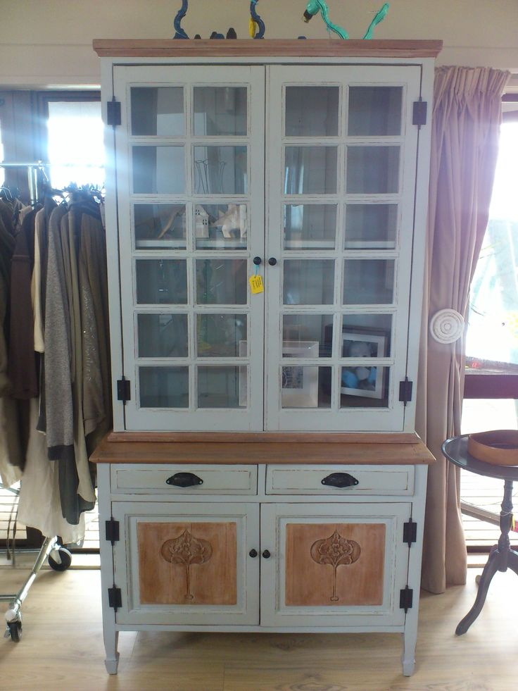 Antique cabinet by https://www.facebook.com/HeidiAltmannInteriorDesign