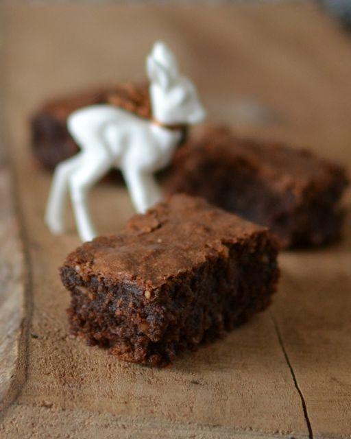 Miris Jahrbuch: Schokoladig-saftig: Brownies ohne Mehl.