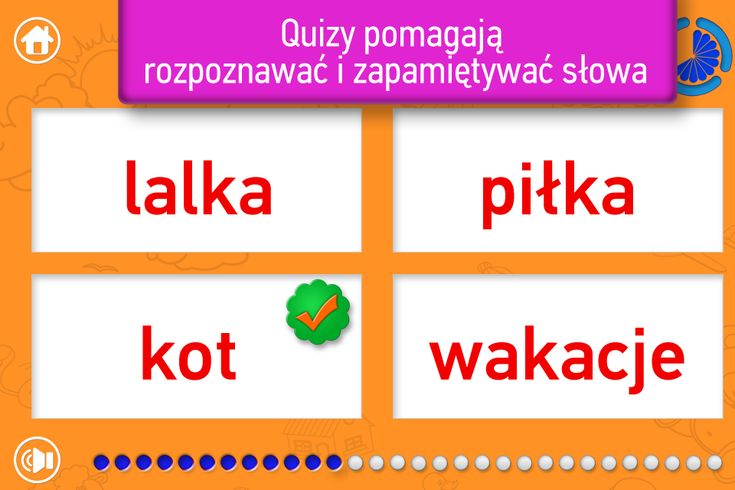 Playing with Moje Słowa, kids can easily absorb words in Polish language. The more words kids hear during playtime, the more words will learn and use. Young children love the sounds of new, inspiring words. The great app for toddlers and preschoolers to start learning Polish words.