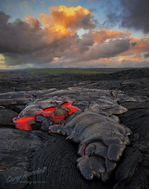 Primordial Landscape | Kalapana lava field at The Big Island… | Flickr