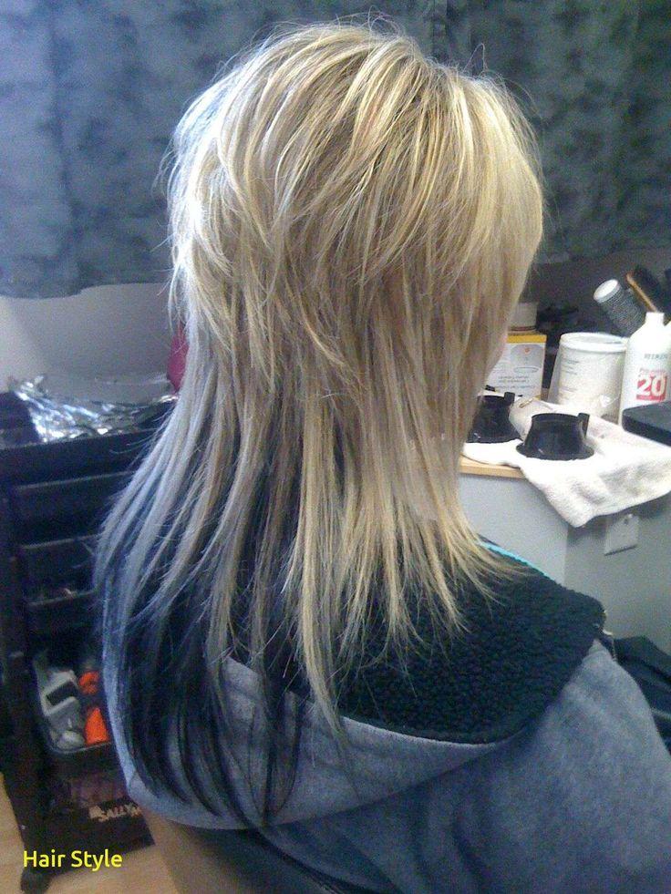 Elegant long layered haircut