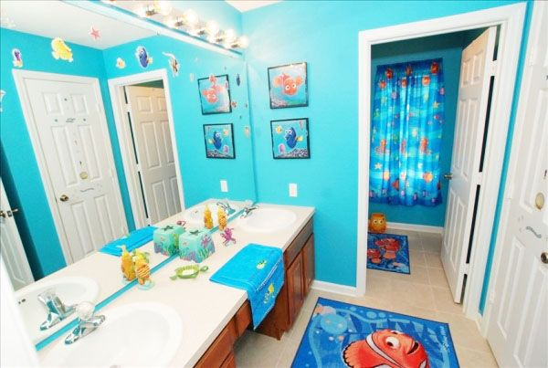 17 best ideas about kids bathroom paint on pinterest for Finding nemo bathroom ideas
