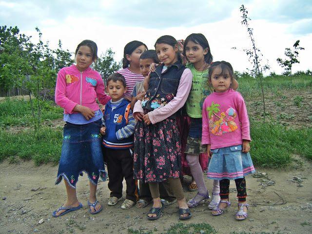 Jurnal A: copii țigani în Moldova