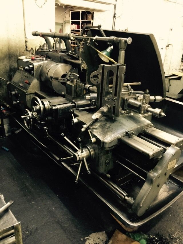 Ward 7d turret lathe call for details
