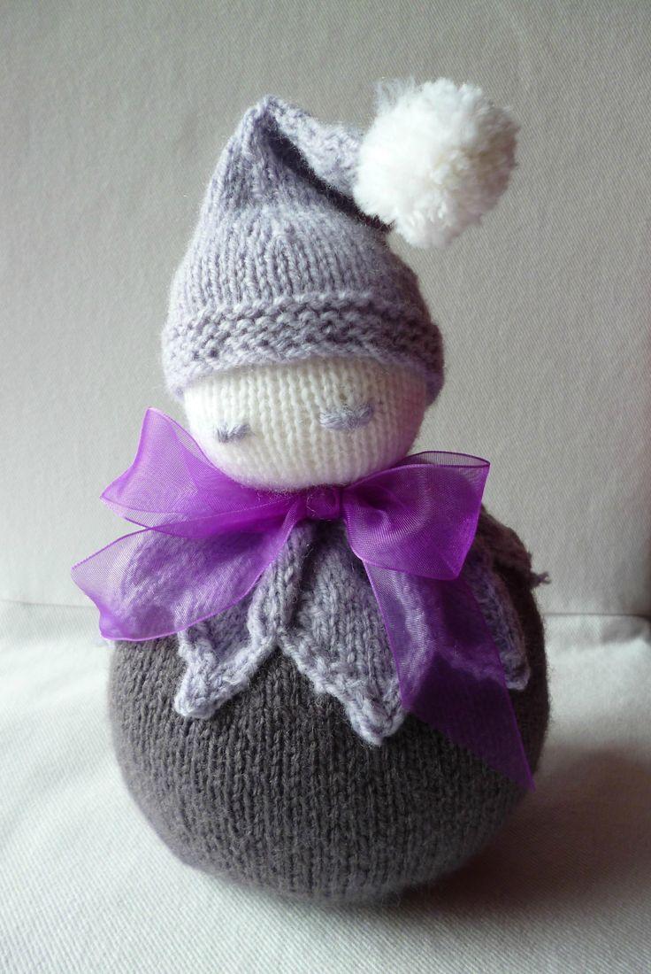 Pour commencer l'année, une petite série de doudous à destination de SOS Préma.  Réalisés avec la laine Bergère de France...