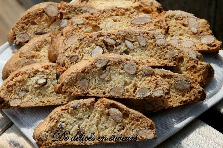 De délices en saveurs: Biscotti ou Croquants aux amandes