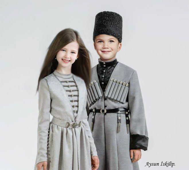 Traditional Circassian clothes
