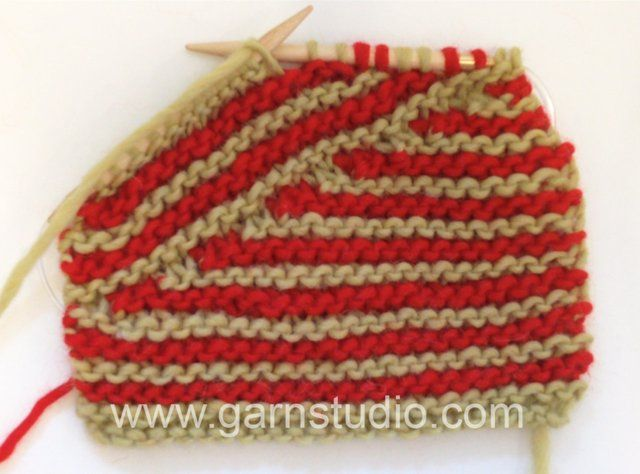 DROPS Knitting Tutorial: How to decrease to DROPS no. 155-1. In this DROPS video we show you how to knit the stripes, short rows and at the ...
