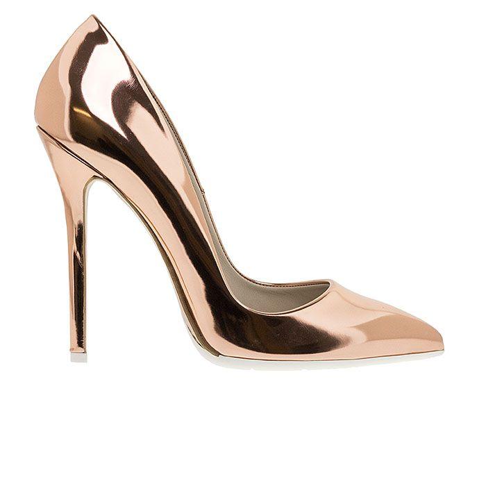 1203A00-SILVER SPEC www.mourtzi.com #pumps #heels #mourtzi #metallics #wow #greekdesigners