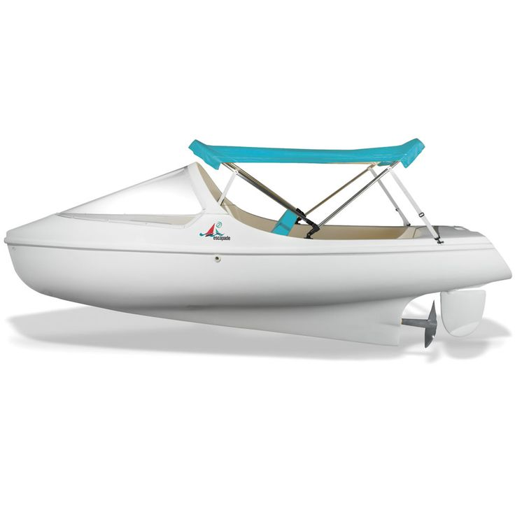 The English Channel Pedal Boat - Hammacher Schlemmer