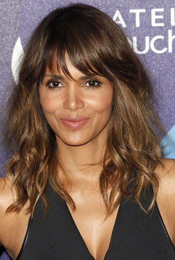 Halle Berry-Hottest Long Hairstyles with Bangs l www ...