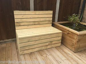 Garden-Seat-Bench-hand-made-from-tanalised-timber-Matches-our-Picnic-Table