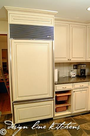 37 best images about appliance panels on pinterest for Ready built cupboards