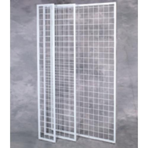 making panels for outdoor art shows | Wire Grid Panel - Wire Slat Grid Panels