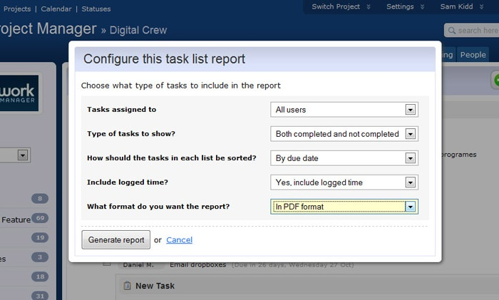 Teamwork Project management made easy! Teamwork - task list format