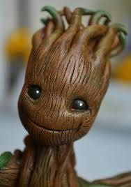 Image result for groot guardianes de la galaxia fimo
