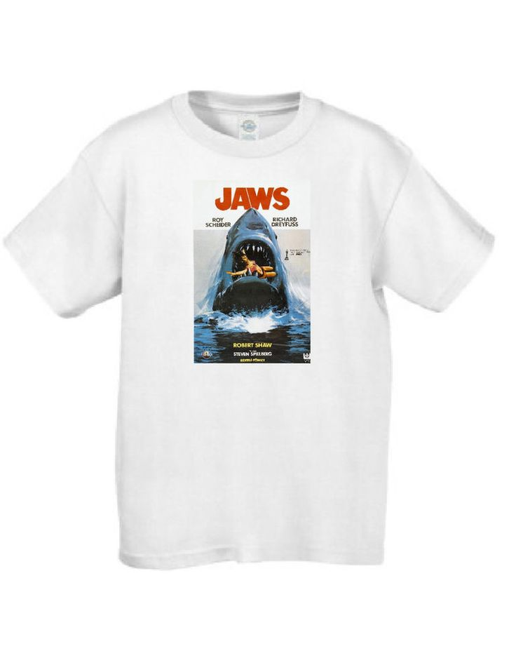 Jaws 2 Movie Poster T Shirt #MT019 #ArielCollection